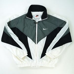 Vintage Nike Colorblock Windbreaker Track Jacket L